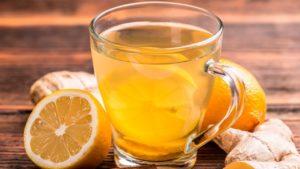 Как приготовить имбирный чай с лимоном и медом