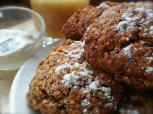 Как приготовить вкусное овсяное печенье с медом