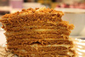 Как приготовить медовый классический торт «Рыжик»