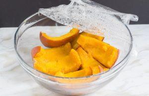 Как приготовить вкусную тыкву с медом в микроволновке в домашних условиях