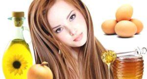 Как сделать маску для волос с яйцом и медом в домашних условиях